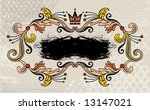 floral logo | Shutterstock .eps vector #13147021