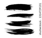 abstract big black textured...   Shutterstock .eps vector #1314729131