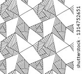 seamless pattern  black and... | Shutterstock . vector #1314752651