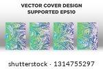 mixture of acrylic paints.... | Shutterstock .eps vector #1314755297