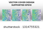 mixture of acrylic paints.... | Shutterstock .eps vector #1314755321