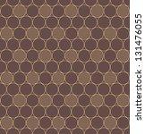elegant vintage geometric... | Shutterstock .eps vector #131476055