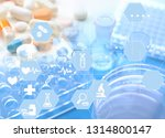 experiments in the laboratory | Shutterstock . vector #1314800147