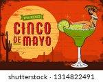 cinco de mayo  traditional... | Shutterstock .eps vector #1314822491