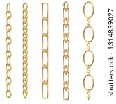 set of vertical chain for... | Shutterstock .eps vector #1314839027