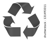 recycle symbol | Shutterstock . vector #131493311