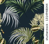 floral fashion tropic wallpaper ... | Shutterstock .eps vector #1314948044