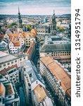 dresden castle and dresden... | Shutterstock . vector #1314951794