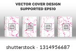 mixture of acrylic paints.... | Shutterstock .eps vector #1314956687
