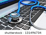 healthcare and medicine or... | Shutterstock . vector #131496734