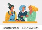 vector cartoon illustration of... | Shutterstock .eps vector #1314969824