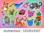 cool big set of patches ... | Shutterstock .eps vector #1315015337