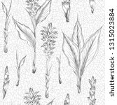 seamless pattern with hand... | Shutterstock .eps vector #1315023884