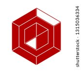vector diamond crystal  ... | Shutterstock .eps vector #1315036334