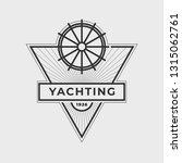 yachting club logo set.... | Shutterstock .eps vector #1315062761