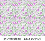 elegant floral pattern in small ... | Shutterstock .eps vector #1315104407