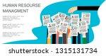 applying for job  giving cv ... | Shutterstock .eps vector #1315131734