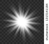 white glowing light burst... | Shutterstock .eps vector #1315141184