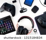 streaming games concept  top... | Shutterstock . vector #1315184834