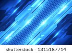 abstract futuristic digital... | Shutterstock .eps vector #1315187714