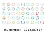set of abstract technology... | Shutterstock .eps vector #1315207517