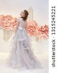 beautiful bride in an expensive ... | Shutterstock . vector #1315245221
