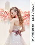 beautiful bride in an expensive ... | Shutterstock . vector #1315245224