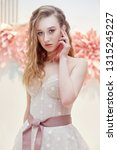 beautiful bride in an expensive ... | Shutterstock . vector #1315245227