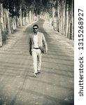 young man wearing stylish dress ... | Shutterstock . vector #1315268927