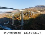 highway overpass bridge in the... | Shutterstock . vector #1315343174