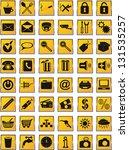 icons set  for design... | Shutterstock . vector #131535257
