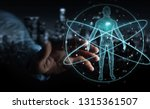 businessman on blurred... | Shutterstock . vector #1315361507