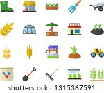 color flat icon set ear flat... | Shutterstock .eps vector #1315367591