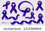 colon cancer awareness month.... | Shutterstock .eps vector #1315384844