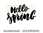 spring sale background with... | Shutterstock .eps vector #1315392041