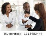 people sitting in modern office ...   Shutterstock . vector #1315403444