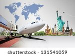 travel the world | Shutterstock . vector #131541059
