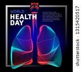 vector human bronchi lungs...   Shutterstock .eps vector #1315420517