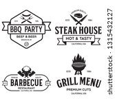 steak house  barbecue  bbq... | Shutterstock .eps vector #1315432127