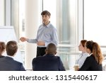 executive manager presenting... | Shutterstock . vector #1315440617