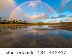 Double Full Circle Rainbow...