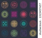 vector illustration of pattern... | Shutterstock .eps vector #1315457657