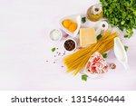 ingredients for cooking... | Shutterstock . vector #1315460444