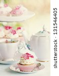 Stock photo afternoon tea 131546405