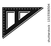 angle ruler icon. simple... | Shutterstock .eps vector #1315508504