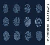 fingerprint icons....
