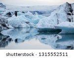 floating iceberg fron the... | Shutterstock . vector #1315552511