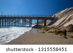 fishing pier and boat hoist at... | Shutterstock . vector #1315558451