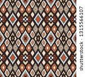 ikat geometric folklore...   Shutterstock .eps vector #1315566107