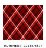 rhombus pattern  tartan plaid ... | Shutterstock .eps vector #1315575674